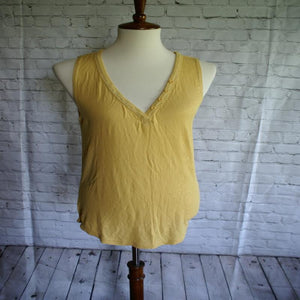 Button Tank Tops