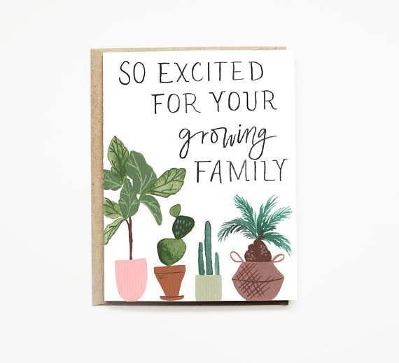 Growing Parents Card