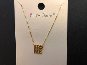 Home Pendant Necklace