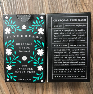 Finch Berry Charcoal soap