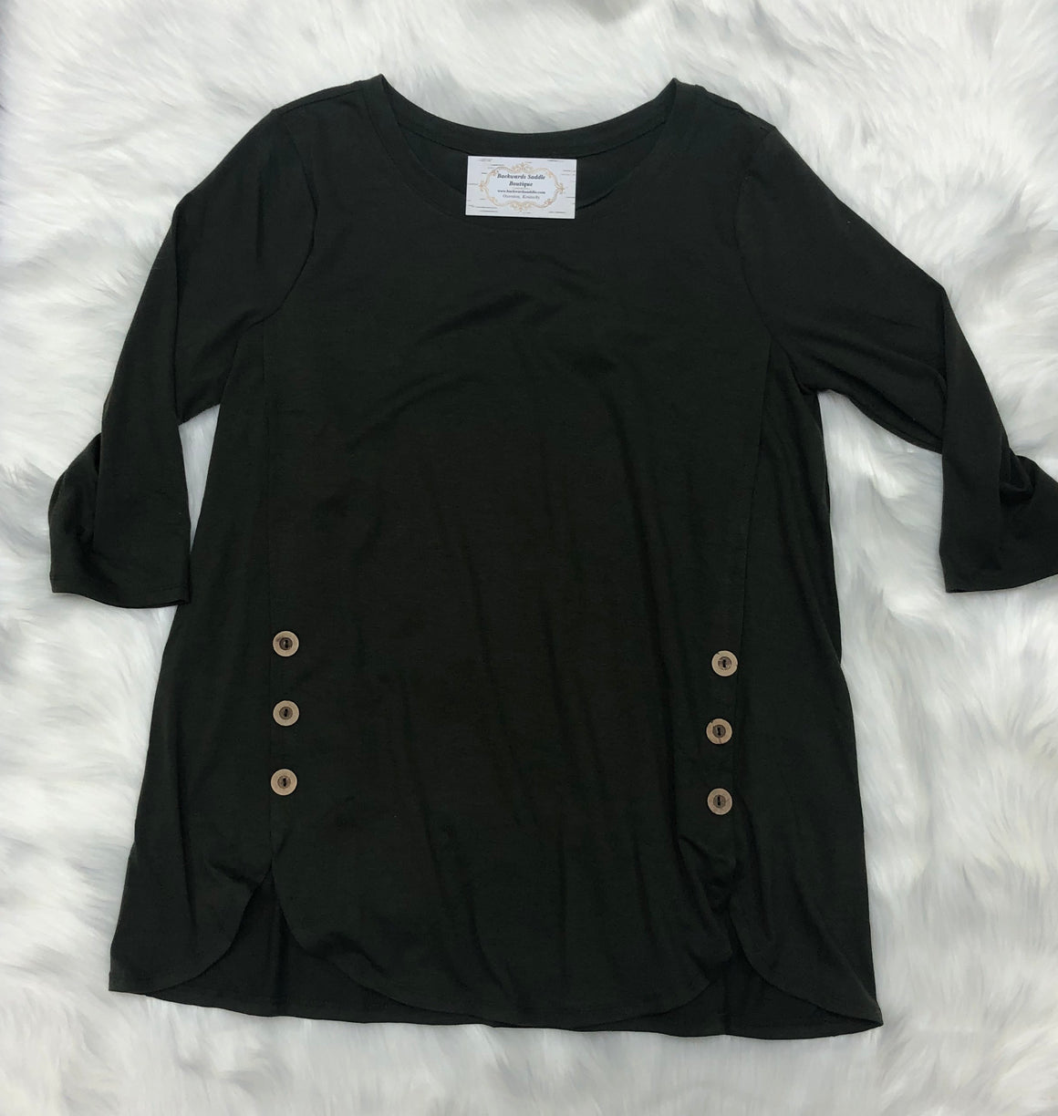 Favorite Basic Button Top