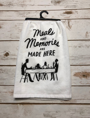 Memories Made Dish Towel