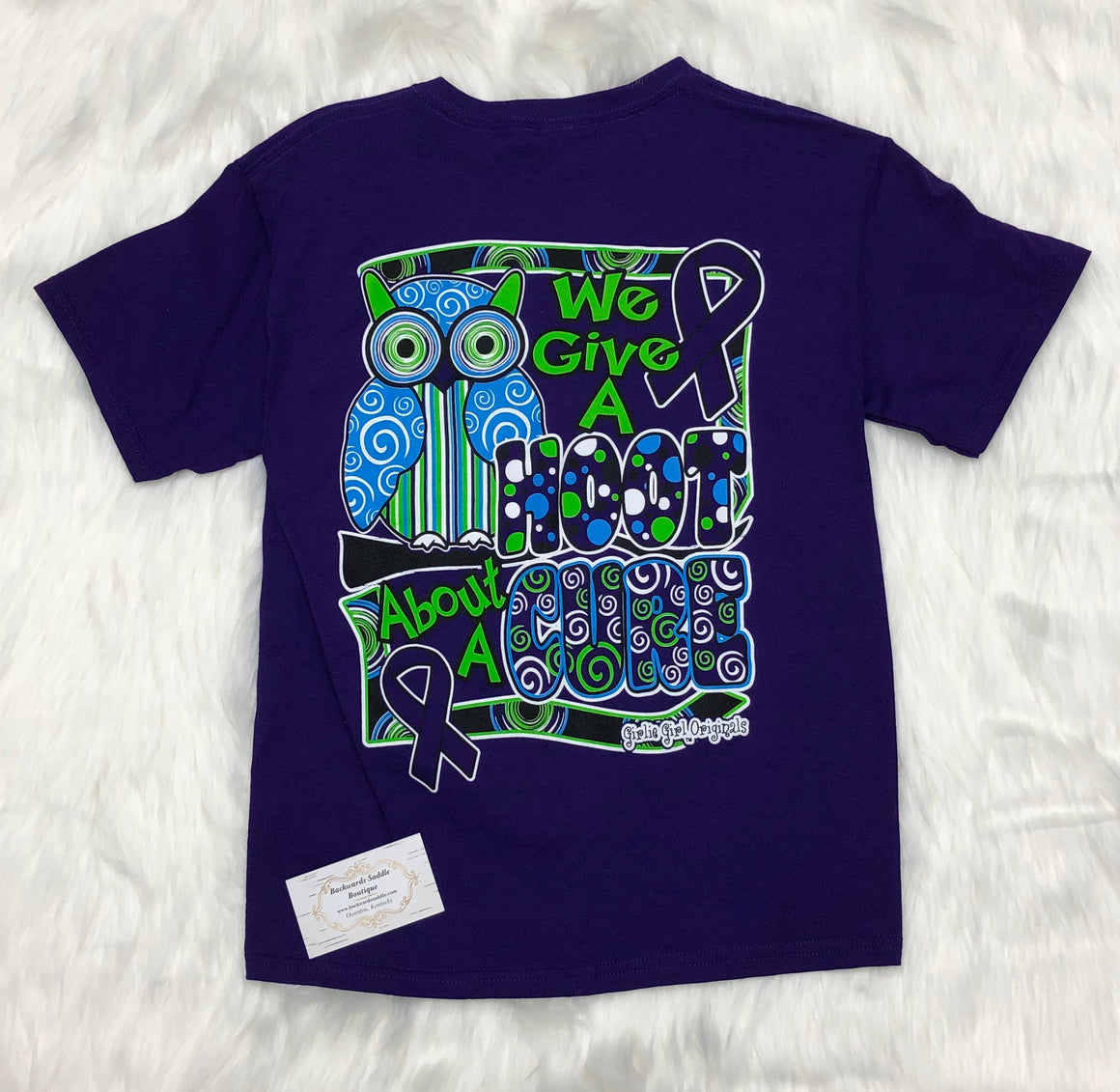 Hoot About A Cure Tee