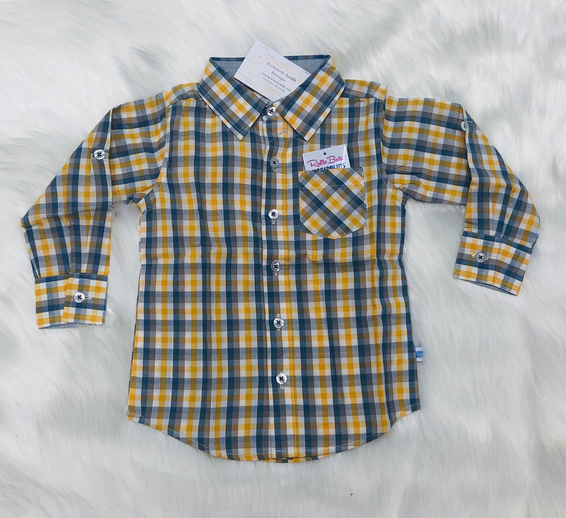Parker Plaid Button Down Shirt
