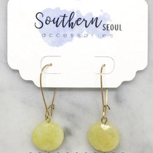 Load image into Gallery viewer, Stone Dangle Earrings