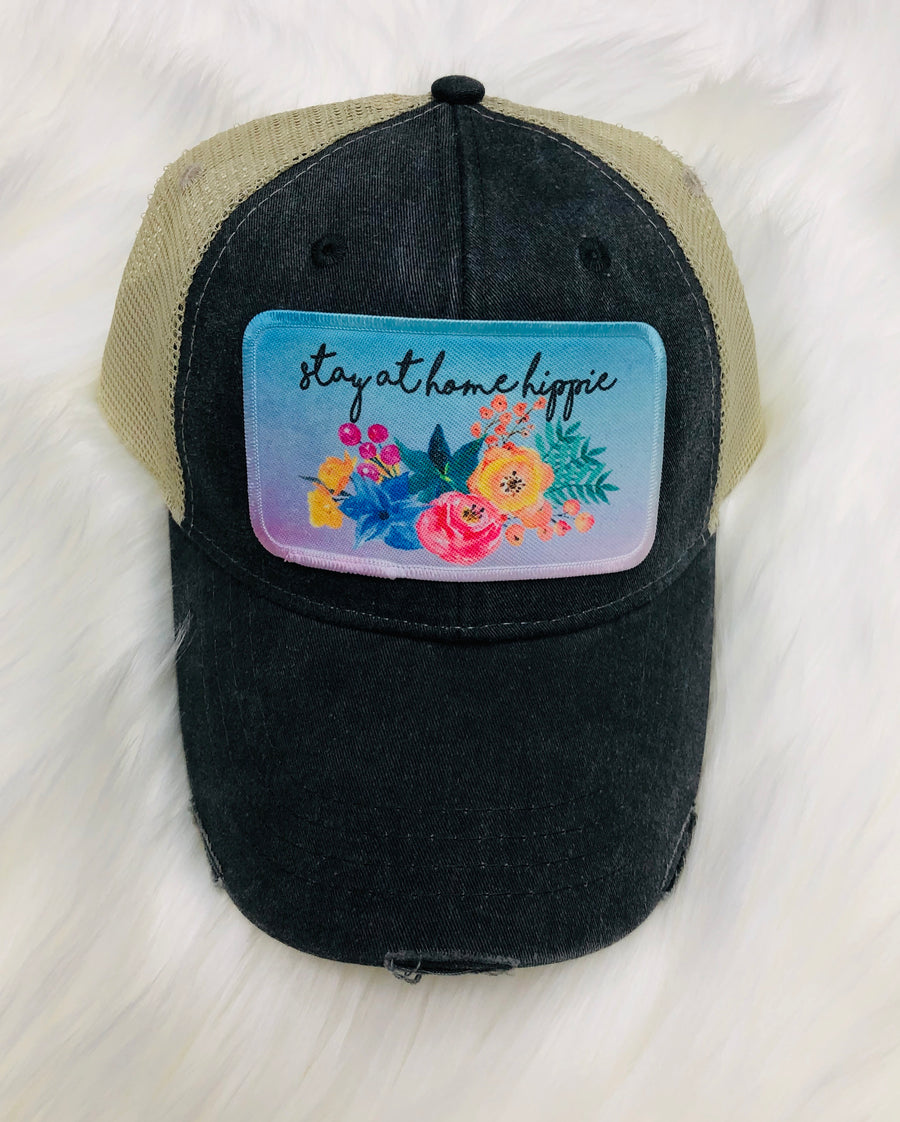 Stay At Home Hippie Hat