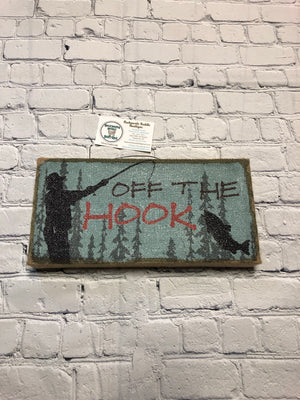 Off The Hook Sign