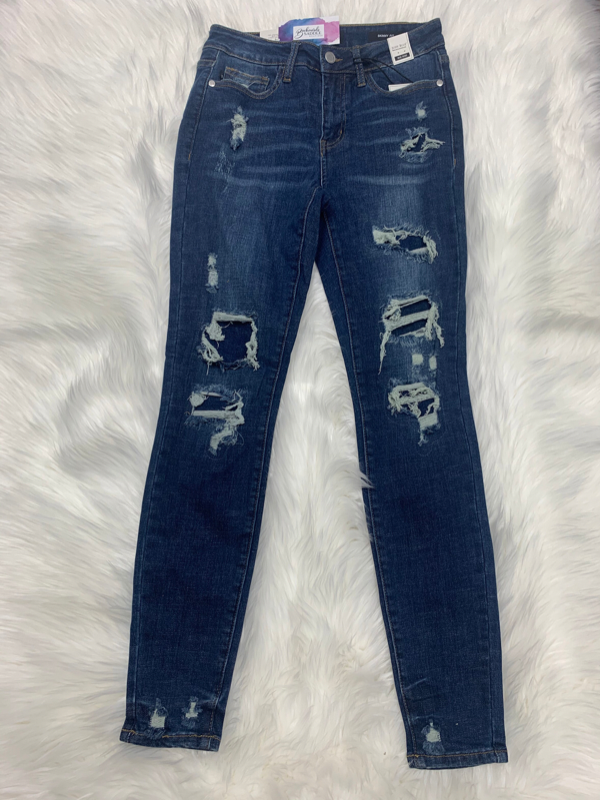 Judy Blue Patched destroy skinny jeans