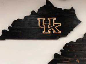 KY Cutout Engraved teams