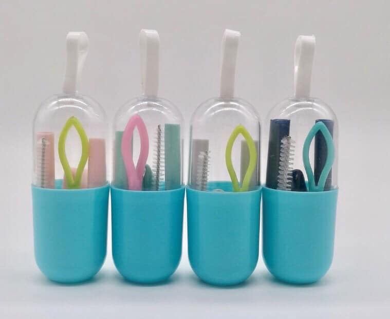 Bendable Silicone Straws