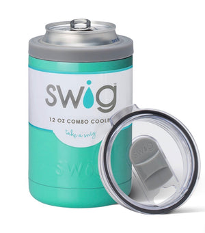 Turquoise Combo Cooler 12oz