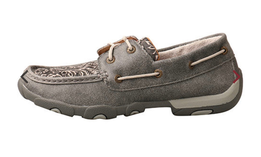 Twisted X Women's Grey leather shoes