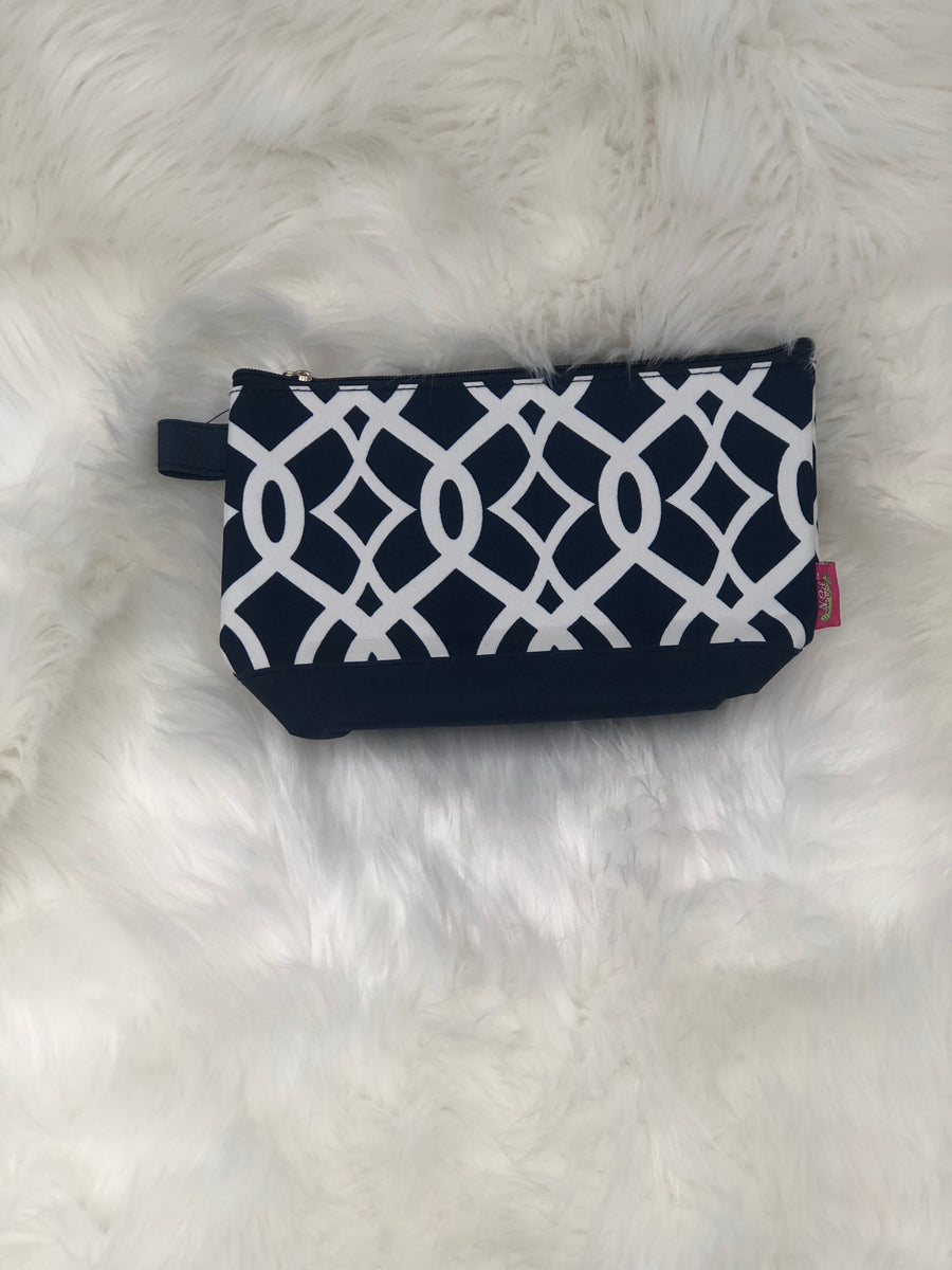 Geometric Cosmetic Pouch