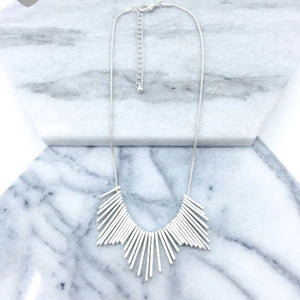 Worn Plating Necklace
