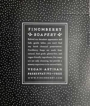 Finch Berry soap gift set