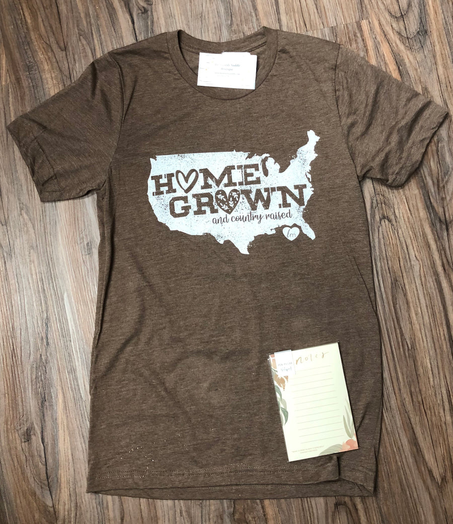 Home Grown & Country Raised Tee