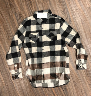Distressed Flannel Shirts