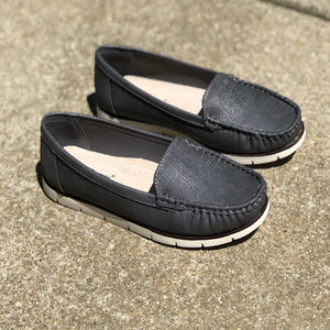 Pewter Slip On Shoes