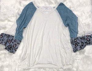 Detailed Sleeves Top