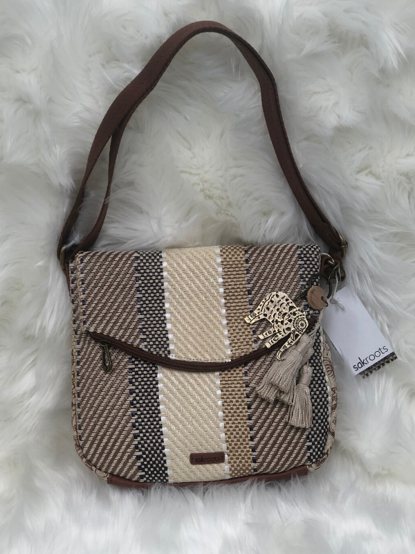 The Sak Foldover Purse Woven