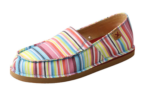 Twisted X Women's Striped Loafers