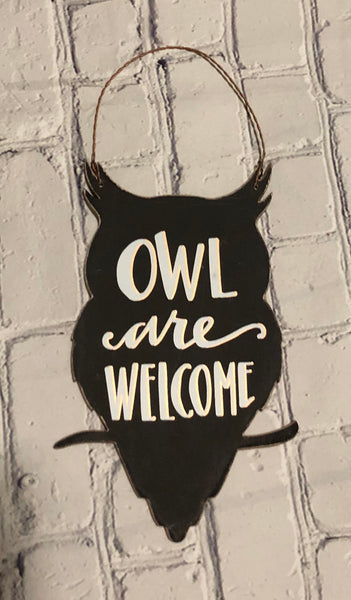 Owl are welcome