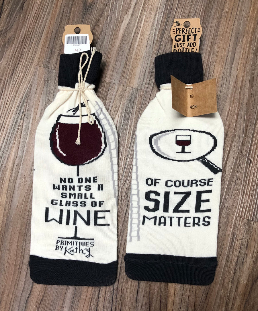 Size Matters Bottle Cover