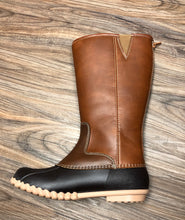 Load image into Gallery viewer, Brown Combo Tall Winter Boot