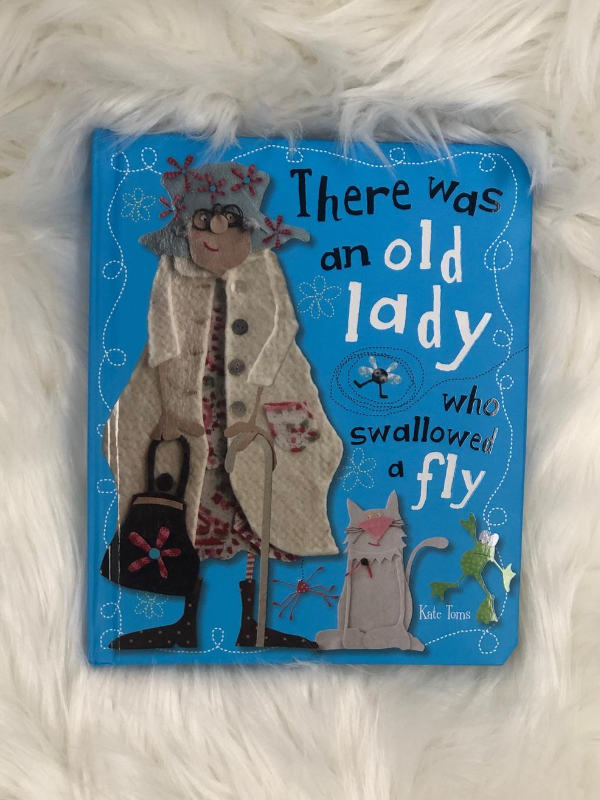 There was an old lady Book