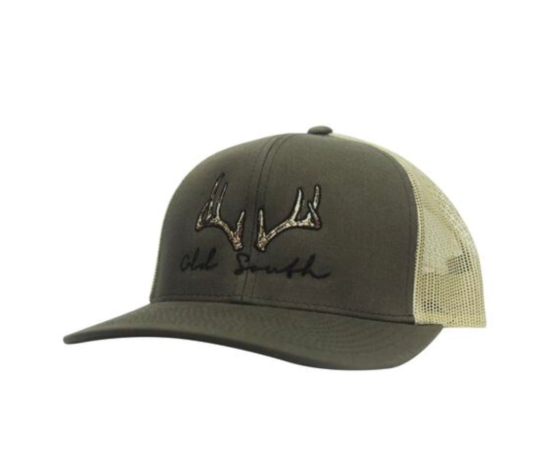 Deer Antler Trucker Hat