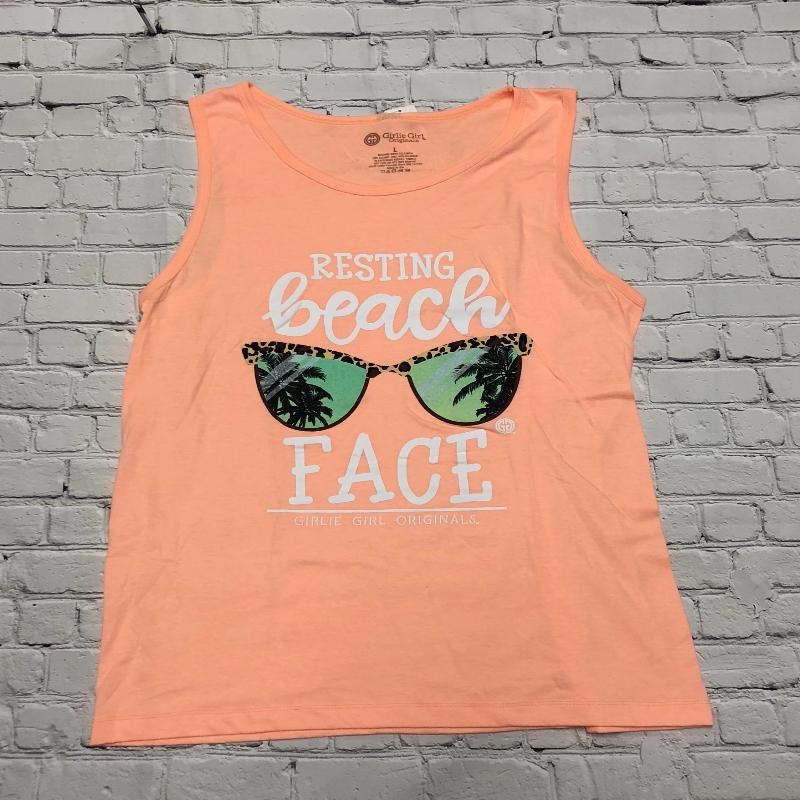 Beach Face Tank Top