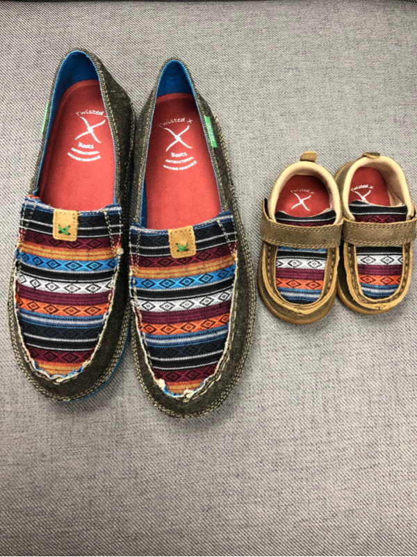 Infant Bomber Multi Serape Moc