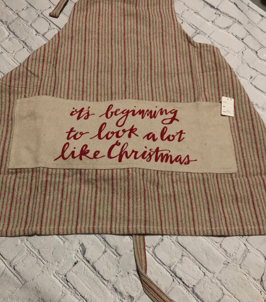 """It's Beginning"" Apron"
