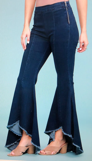 Judy Blue Wave Super Flare Jeans