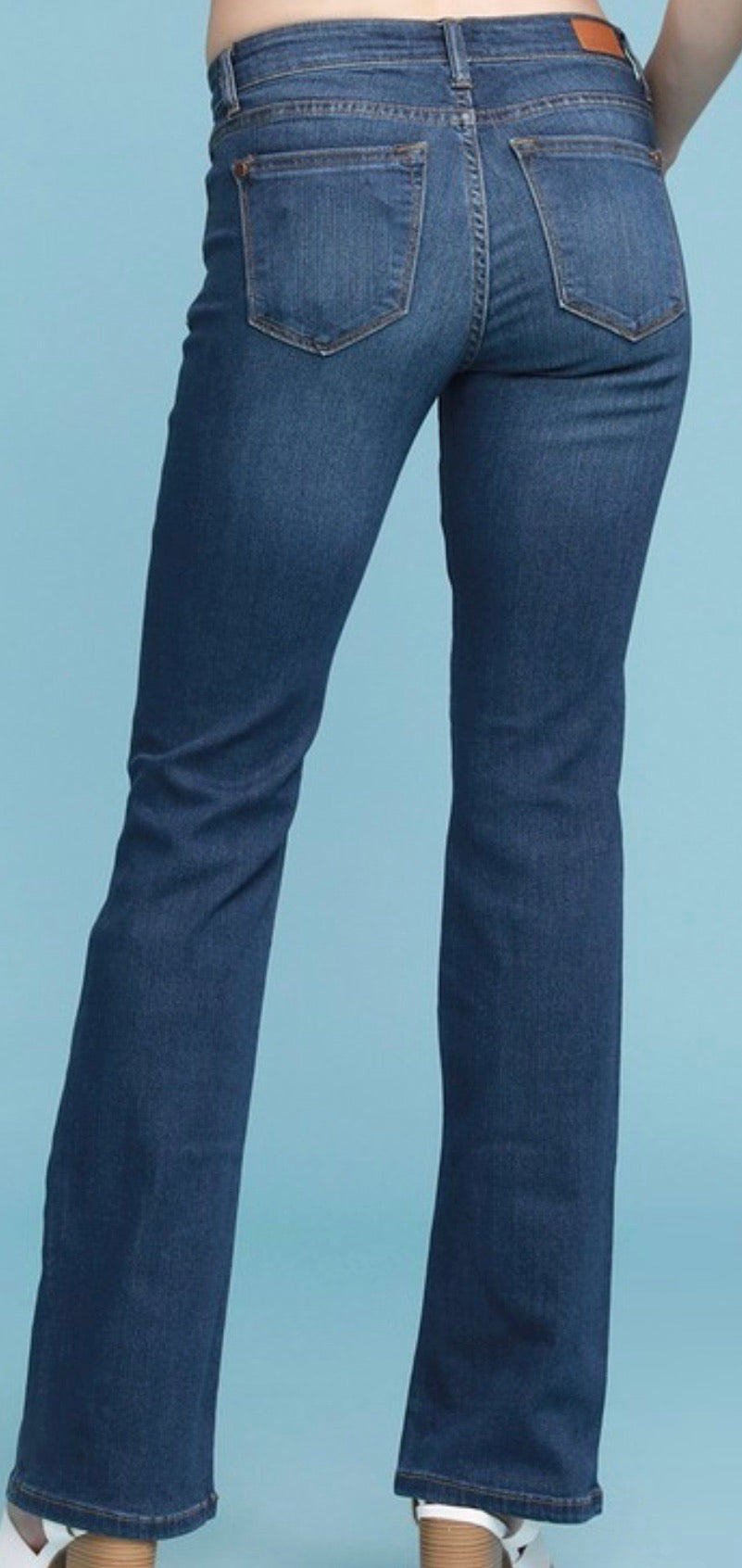 Judy Blue Bootcut Dark Wash Jeans