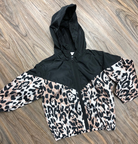 Kids Leopard Raincoat