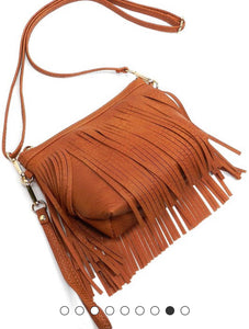 Western Fringe Cross Body Bag