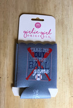Load image into Gallery viewer, GG Take Me Ball Game Koozie