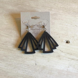 Black Night Out Earrings