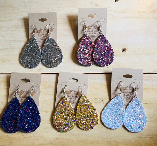 Glitter Bomb Earrings