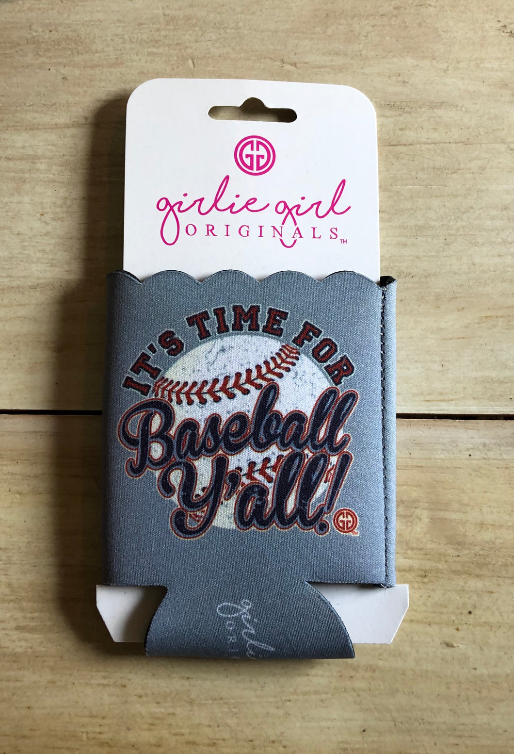 Time for Baseball Koozie