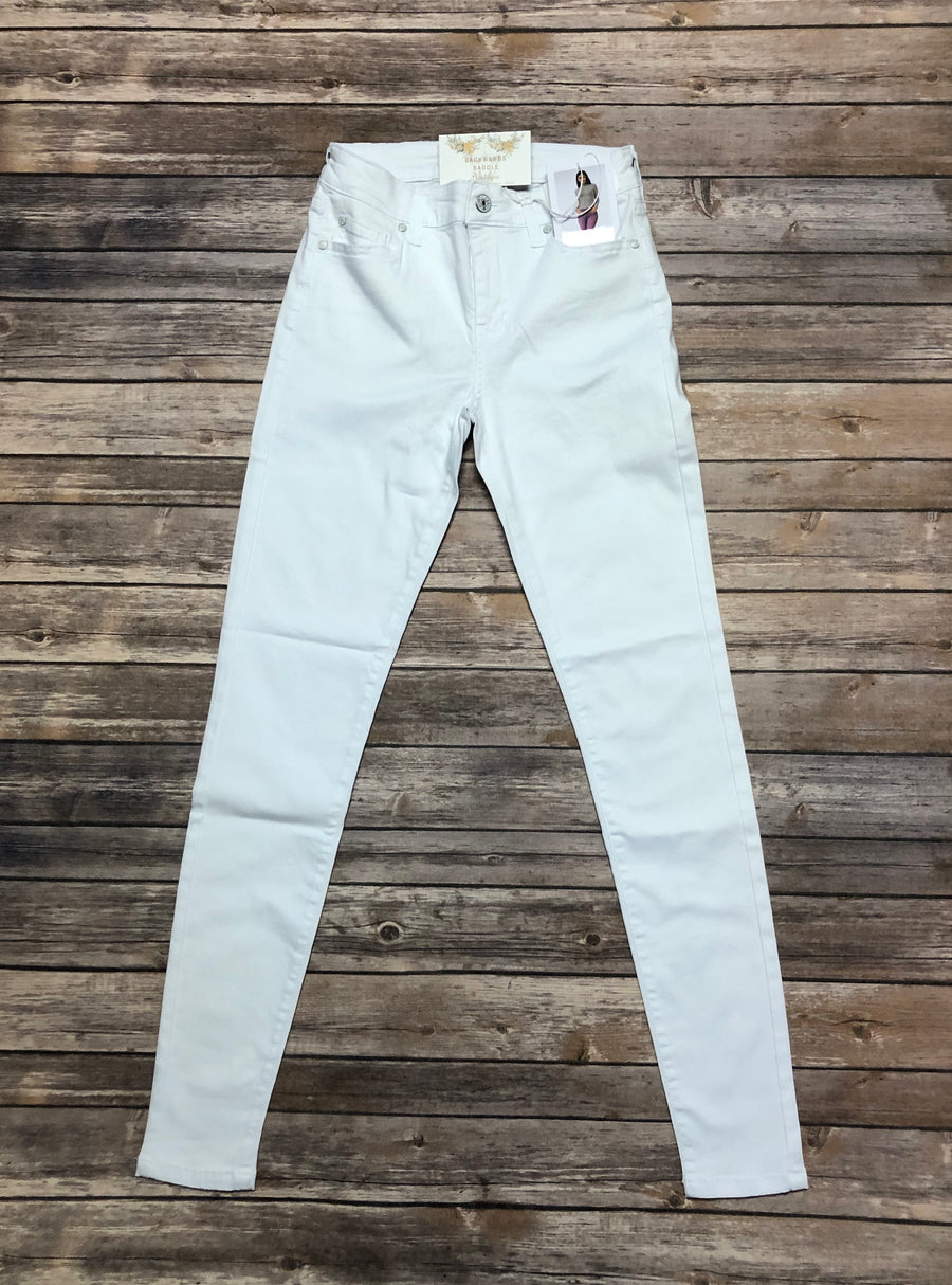 Celebrity Pink Optic White Skinny Jeans