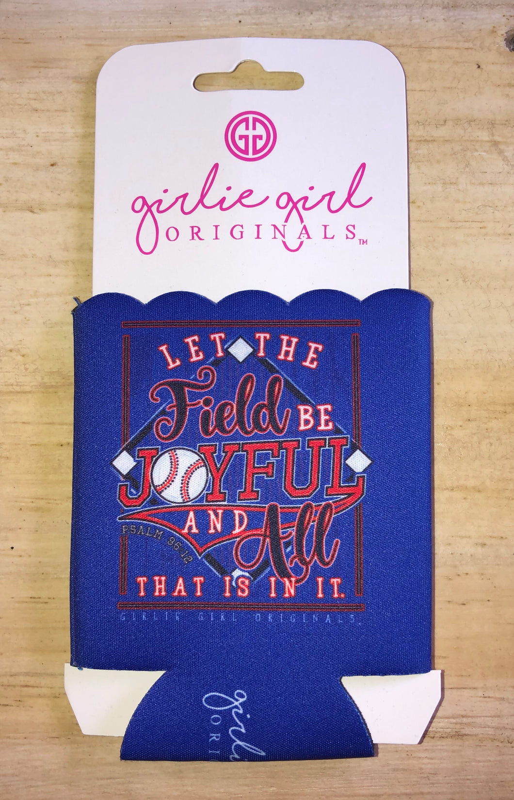 The Field Be Joyful Koozie