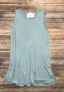 Plus Sleeveless Tunic