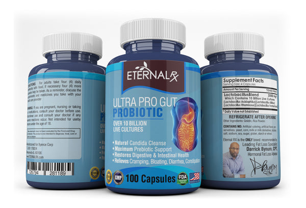 Ultra Pro Gut Probiotic - 100 Count