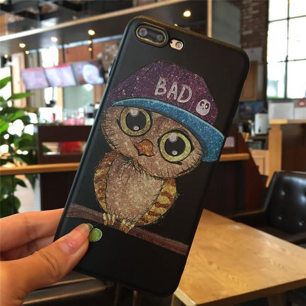 Phonete.comCute Owl Silicone iPhone 7/8 Case (Couple models)50%OFF