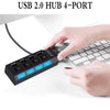 Phonete.com4 Porta USB 2.0 Hub50% OFF