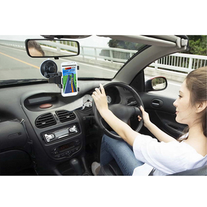 Phonete.comCar Phone Mount Holder, Windshield / Dashboard Universal Car Mobile Phone cradle Washable Strong Sticky Gel Pad for  Decive with 11.5 - 20.5cm Length50%OFF