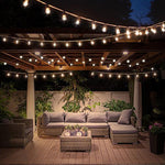 Phonete.comOutdoor & Indoor Decor Glob String Lights 18.2 Ft with 25 LED Bulbs50%OFF