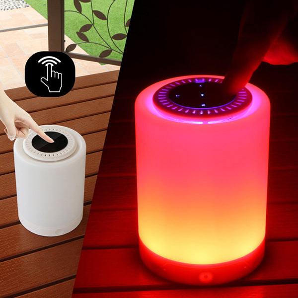 Phonete.comColorful Table Lamp Portable with Bluetooth Speaker50%OFF